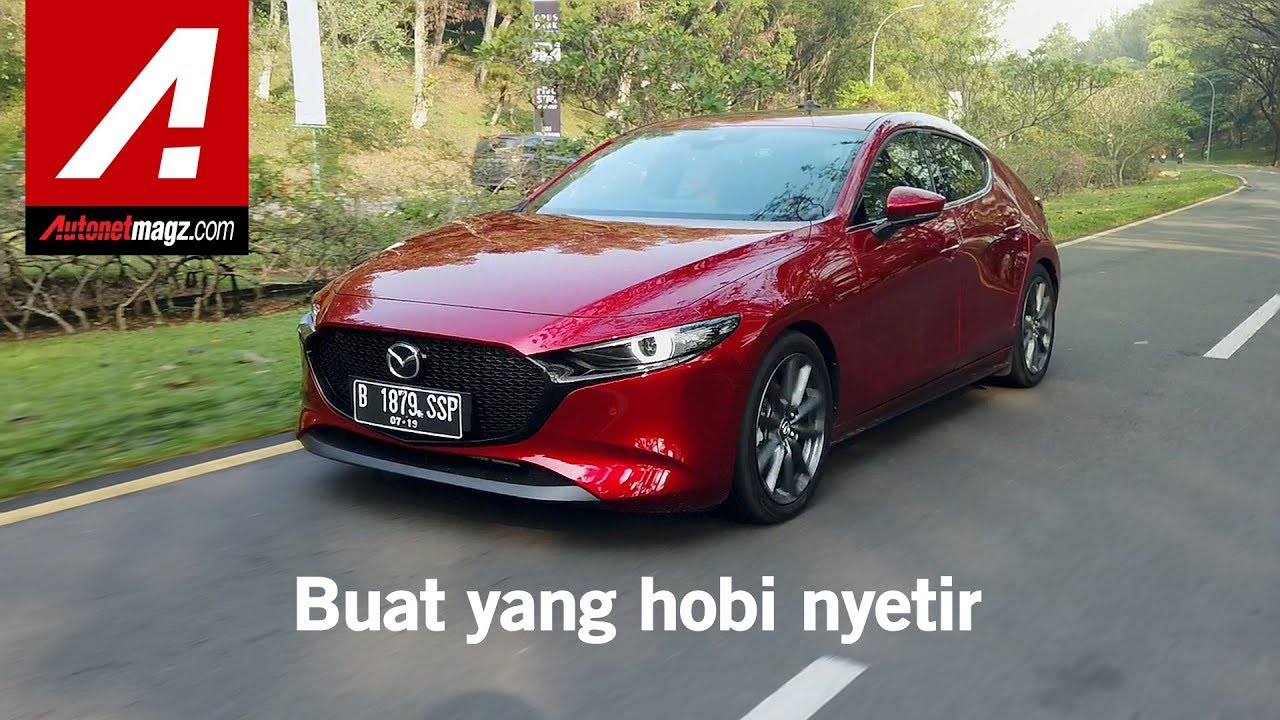 All New Mazda 3 Hatchback 2019 Review & Test Drive di Indonesia
