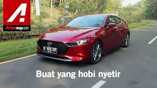 All New Mazda 3 Hatchback 2019 Review amp; Test Drive di Indonesia