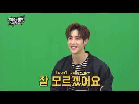 170515 LOTJ: Mark's thoughts on Lee Kyung Kyu