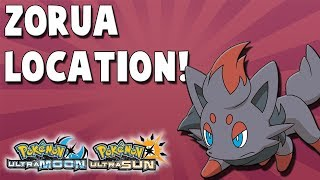 Where to Catch Zorua (#28) in Pokemon Ultra Sun and Ultra Moon Location