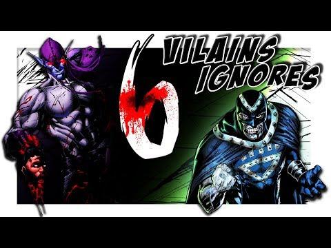 6 VILAINS IGNORÉS chez DC COMICS