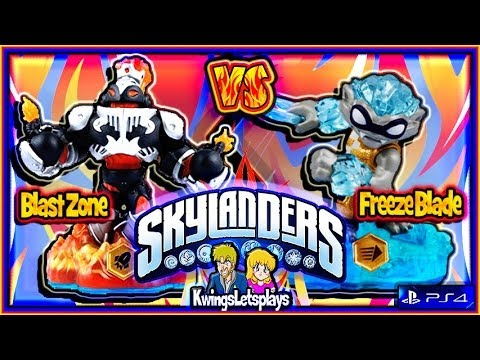 meet the skylanders freeze blade