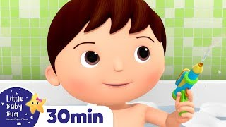 No No I DON'T Want To Have A Bath Song! +More Nursery Rhymes & Kids Songs | Little Baby Bum