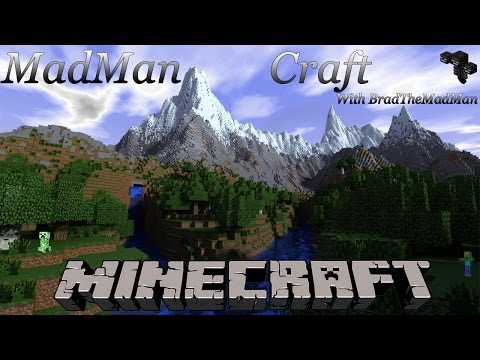 Minecraft : MadMan S2Ep12 Potions from Witch Farm and Big Flood