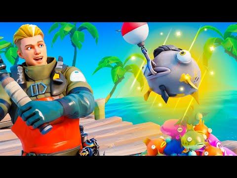 FORTNITE FISHING TYCOON!