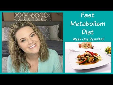 Fast Metabolism Diet    Week 1 Results