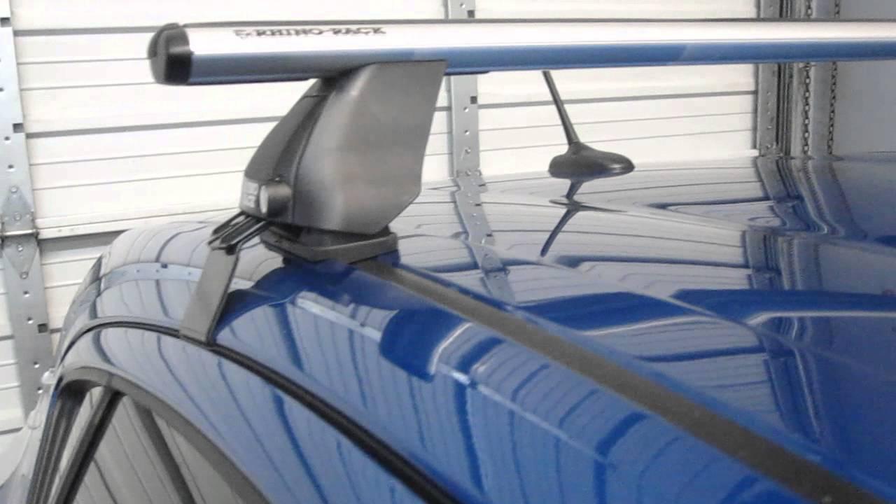 2013 Toyota Prius C with Rhino-Rack Aero 2500 Roof Rack by ...