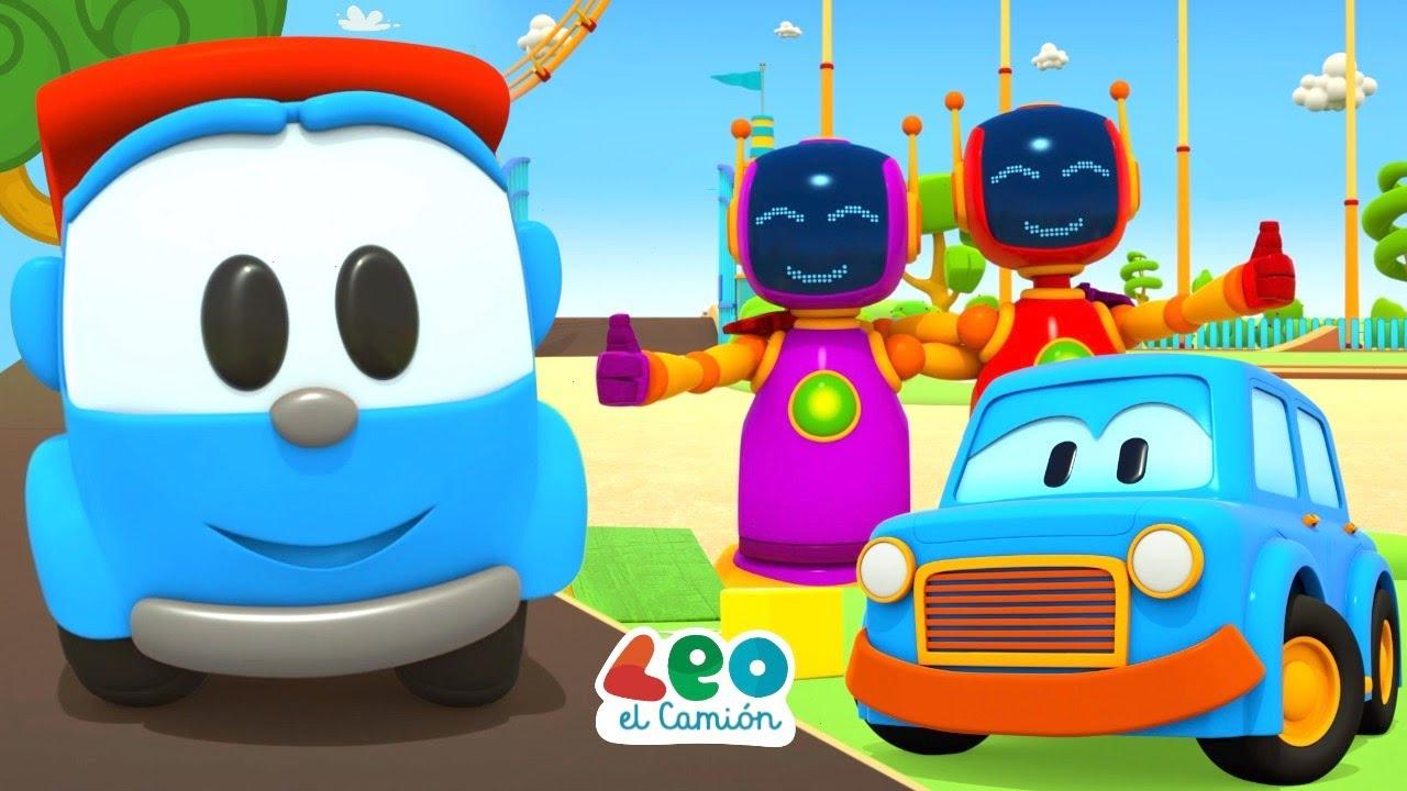 Leo el Camión y Coches Inteligentes - Diversión de verano - Videos educativos para niños