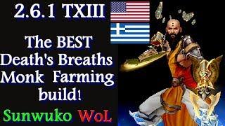 Diablo 3 The best Death's Breaths Monk farming build in 2 languages