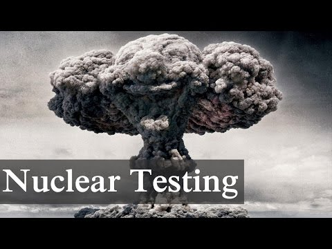 Nuclear Testing Process and Its Effects On Environment - USA