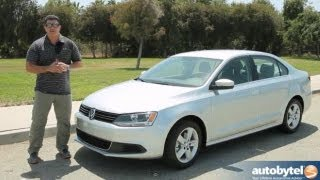King of Diesel Cars - 2013 Volkswagen Jetta TDI Test Drive & Car Video Review