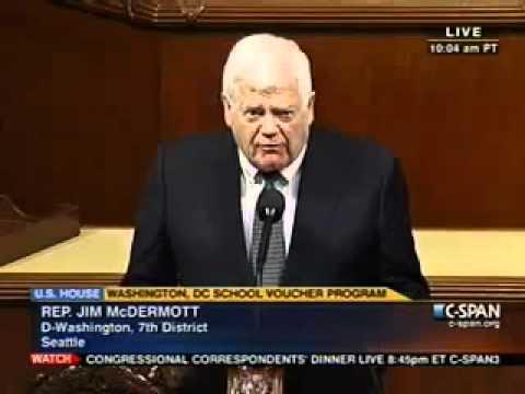 Rep. Jim McDermott (D-WA): Tired of Reading Constitution