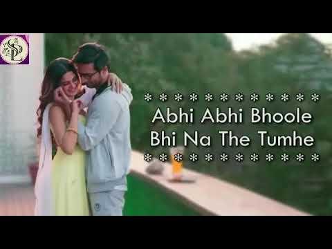 Abhi Abhi Bhoole Bhi Na The Tumhe Song
