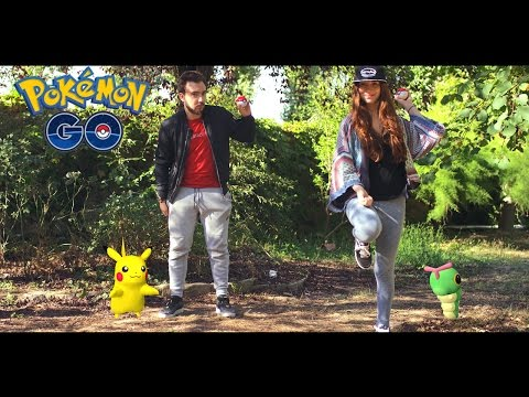 POKEMON GO IN REAL LIFE !! - Court metrage David Lafarge Pokemon