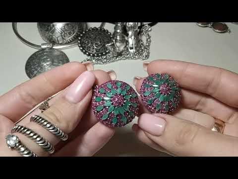 Серебряные украшения покупки и личная коллекция.