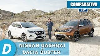 Comparativa SUV: Nissan Qashqai vs Dacia Duster | Review en español | Diariomotor