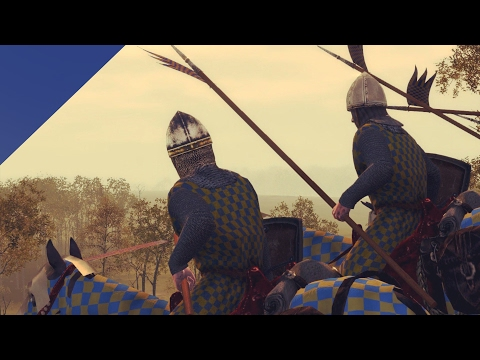 Английские лучники против Рыцарей Франции! Битва при Креси в Total War!