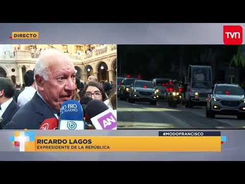 """Ricardo Lagos: """"Lo que el Papa planteó hoy en la Araucanía es muy importante"""""""