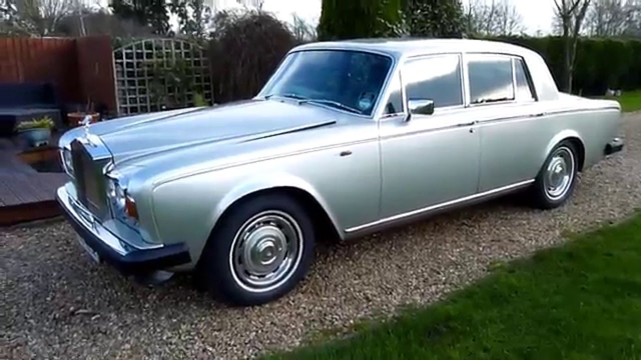 video review of 1980 rolls royce silver shadow 2 for sale sdsc specialist cars cambridge youtube. Black Bedroom Furniture Sets. Home Design Ideas