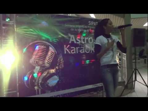 Astros Karaoke 2012 - Aline Gomes - Ressussita-me