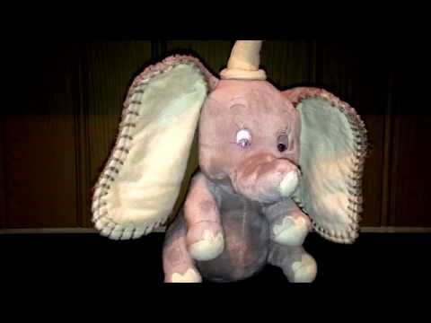 Disney's Dumbo Children's Musical Soft Toy Wind Up Video