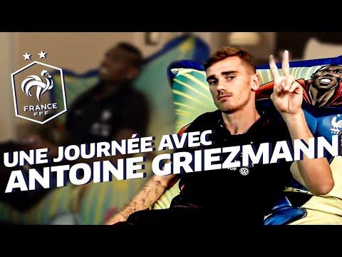 Une journée avec Antoine Griezmann à Clairefontaine