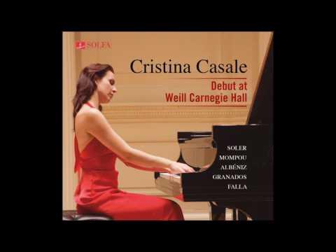 02 Cristina Casale plays A. Soler Sonata G minor