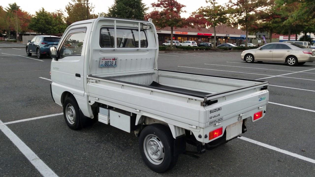 Suzuki Carry 4WD 1992 Difflock. 4X4 30000ml., DD51T