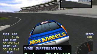Lets play PS1 games NASCAR 98 part 1