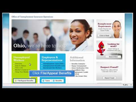Ohio Department Of Job And Family Services: Filing For Your Weekly Unemployment Benefits