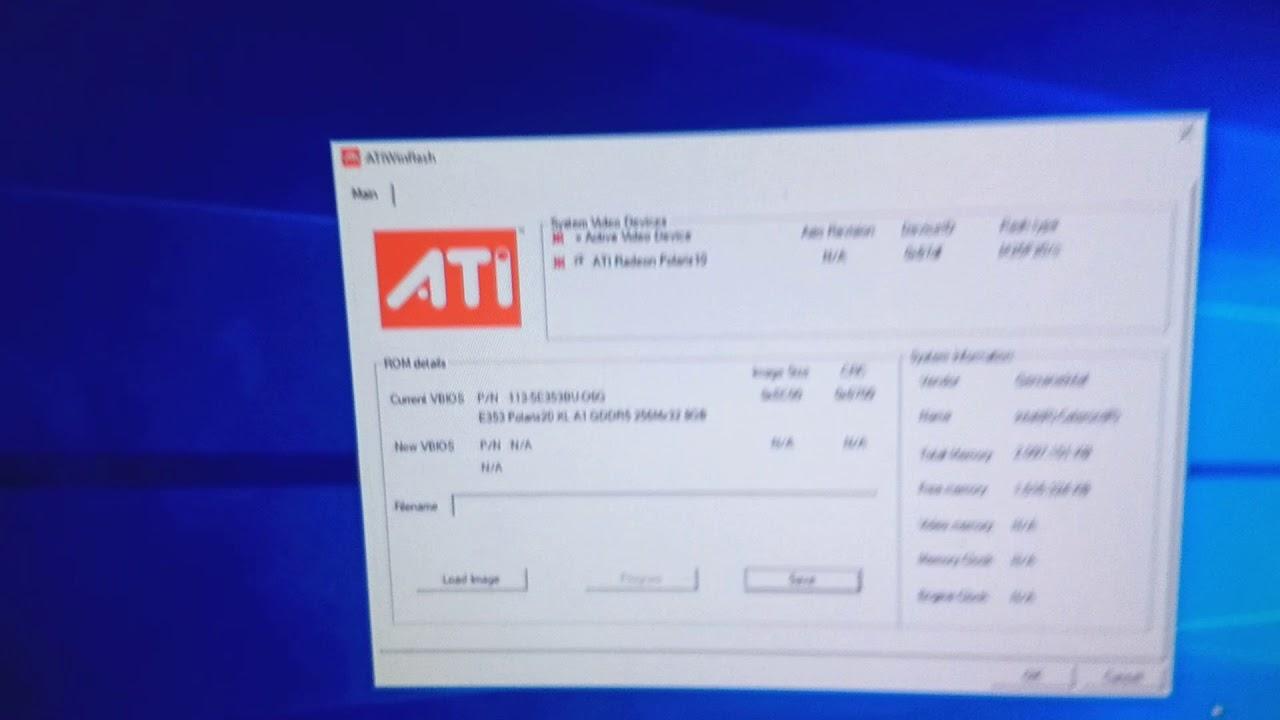 AMD RX 570 & 580 one click bios mod