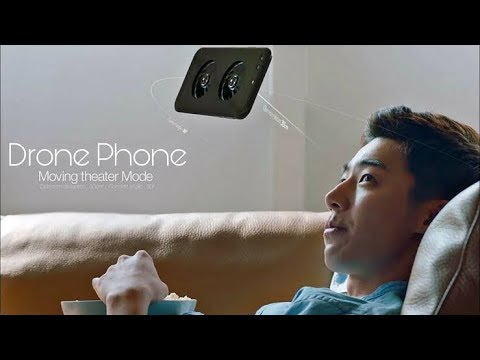 Amazing mobile, Drone mobile Flying smartphone LG U+