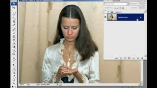 Photoshop с нуля в видеоформате (2008). Сияние свечи. (Зинаида Лукьянова)