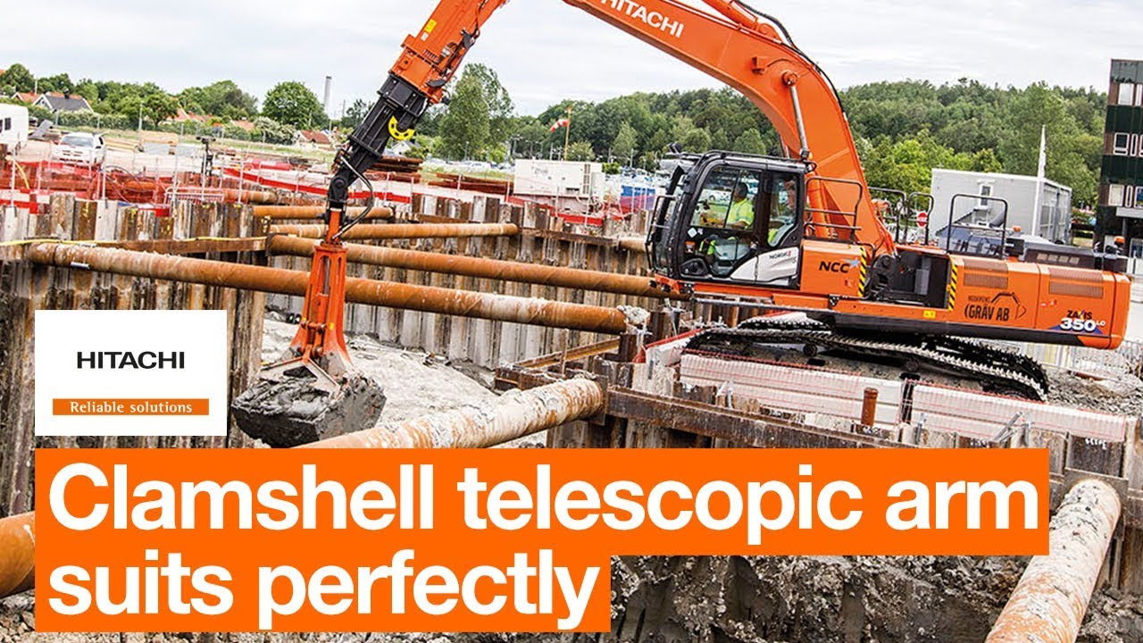 Hitachi ZX350LC-6 CTA perfect for high-profile project in Sweden