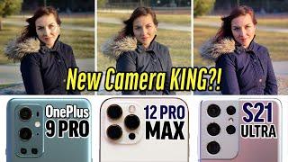 Unbiased OnePlus 9 Pro vs 12 Pro Max vs S21 Ultra Camera Test!