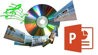 Как сделать слайд шоу из фотографий с музыкой в PowerPoint?