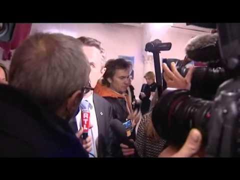 Marseille : Stéphane Ravier (FN) soir du 1er tour