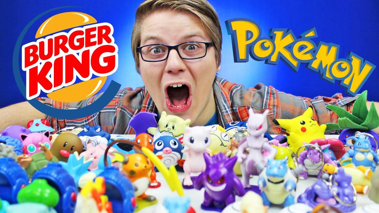 Pokemon Burger King Toys 1999