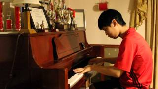 Nolan Handali - Mozart Piano Concerto #20 In D Minor K 466-2. Romance