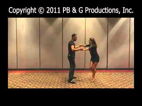 2010 San Francisco Salsa Cristian Oviedo and Liz Lira teaching Salsa on 1 Partnering Intermediate