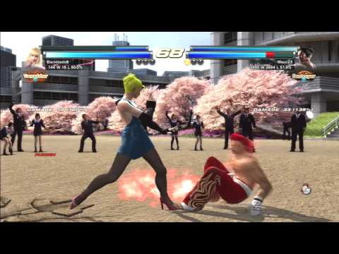 Tekken Tag Tournament 2 - This is how you should fight for a rank promotion!