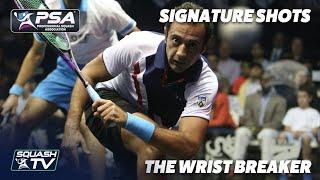 Squash: Signature Shots - Amr Shabana - The Wrist Breaker