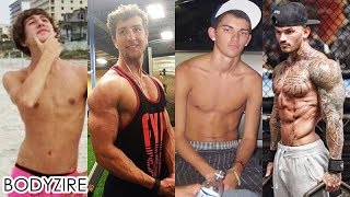 Superb Men Weight Gain Transformation Male Skinny To Muscle Fit Motivation Before And After