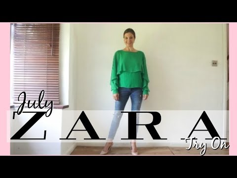 Zara TRY ON HAUL (JULY 2017) for over 40...