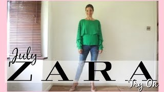 Zara TRY ON HAUL (JULY 2017) for over 40 SUMMER FASHION