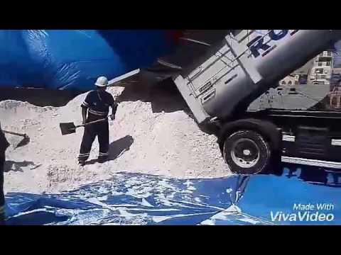 TRABALHO PORTUÁRIO ES(port work)-manuseio e embarque de hidrato de alumina.
