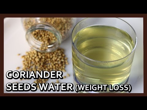 Coriander Seeds Water - Magical Drink for Weight Loss | Herbal Weight Loss Drink by Healthy Kadai