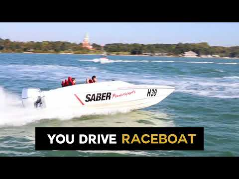 Video of Ultimate Powerboat Day Aboard the Thunderbolt, Jet Viper and Honda 150