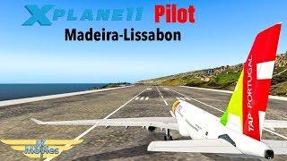 X-Plane 11 Pilot | neuen JarDesign Airbus A330 3.1R2 testen | LPMA-LPPT | A332 | IVAO