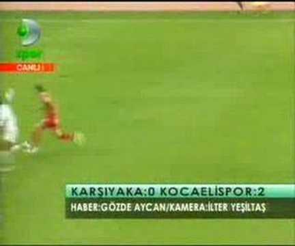 Karşıyaka - Kocaelispor | Türk Tribün Videoları